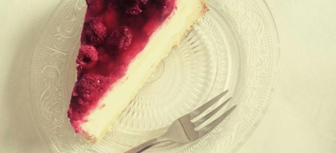 Saftiger Pudding Schmand Kuchen Mit Frechen Himbeeren Je T Aime Gateau